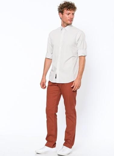 Dockers Slim Fit Uzun Kollu Gömlek Beyaz